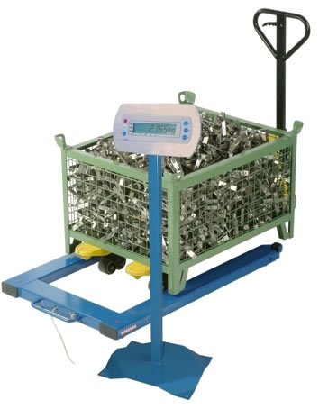 Pallet scale 850/851, EC Class III approved