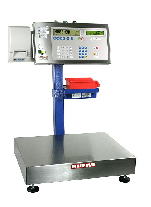 Electronic count/weigh systems 8-036 - EC Class III approved