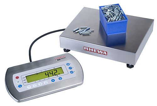 Electronic counting scales 837E - EC Class III approved
